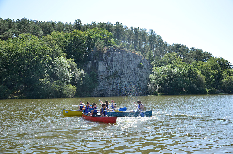 Canoë Kayak en Pays de Redon - Ile aux pies