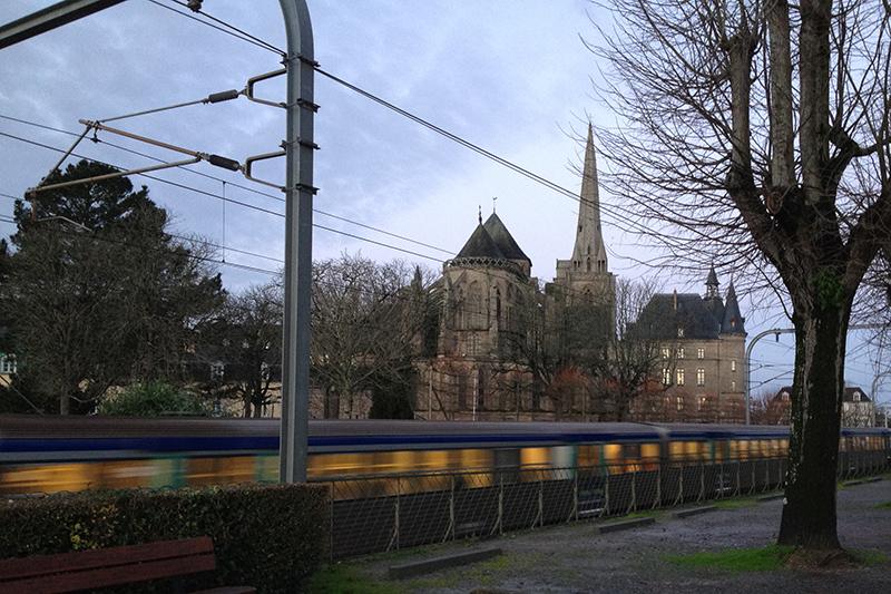 Gare en centre ville de Redon
