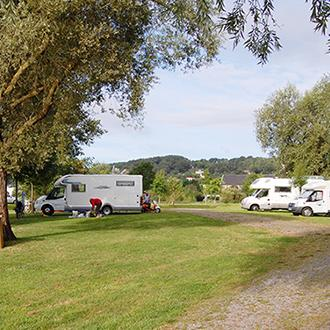 Campsites and motor home points
